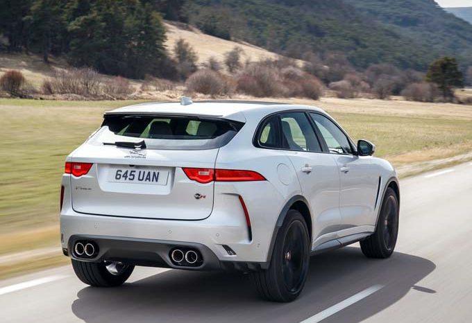 Jaguar F-Pace SVR 2020 full