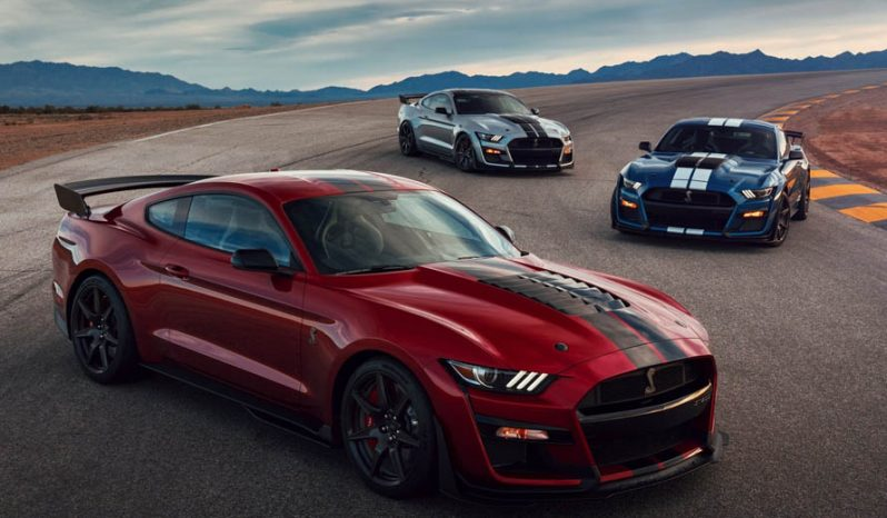 Ford Mustang Shelby GT500 Model 2020 full