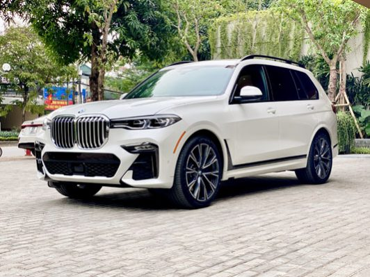BMW X7 xDrive40i 2021 full