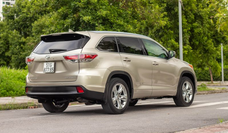 Toyota Highlander 3.5 Limited 2015 full