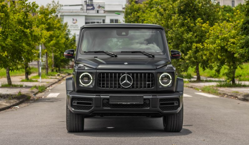 Mercedes G63 Trail Package 2021 full