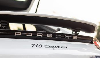 Porsche 718 Cayman 2021 full