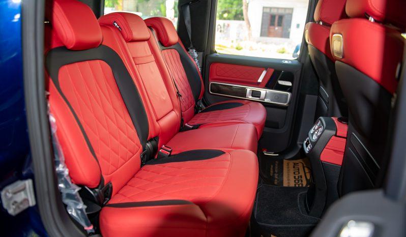 Mercedes G63 AMG Midnight Bule 2021 full