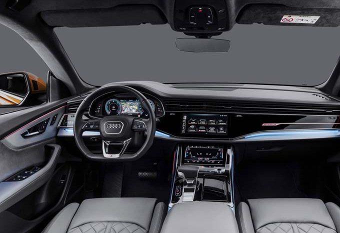 Audi Q8 3.0 TSFI S-Line 2021 full