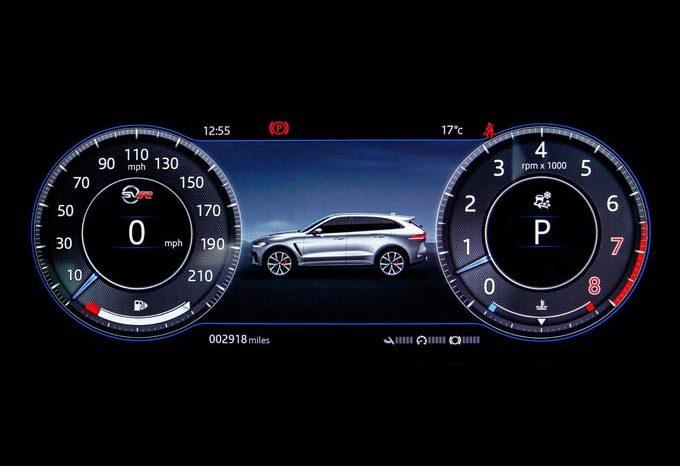 Jaguar F-Pace SVR 2021 full