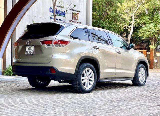 Toyota Highlander LE 2015 full