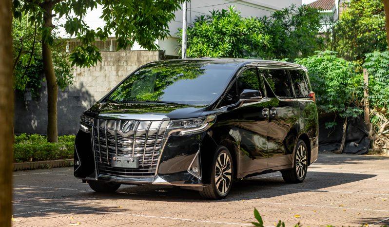 Toyota Alphard Executive Lounge model 2020 full
