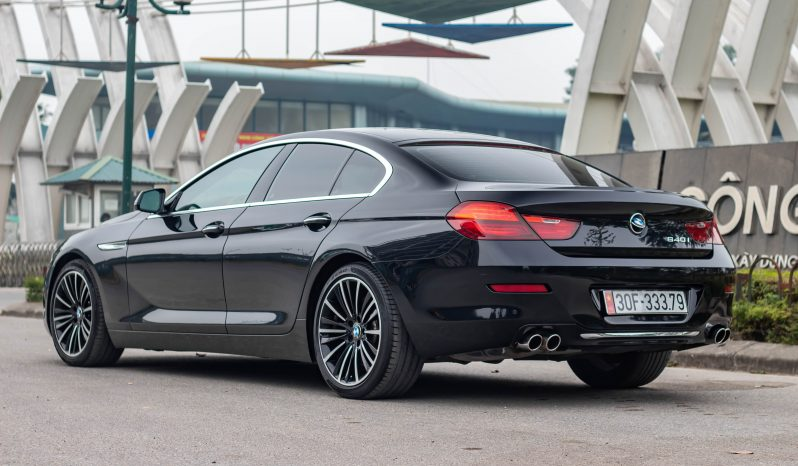 BMW 640i Gran Coupe Model 2016 full