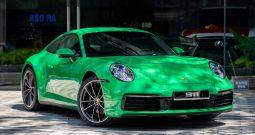 Porsche 911 Carrera Python Green 2021
