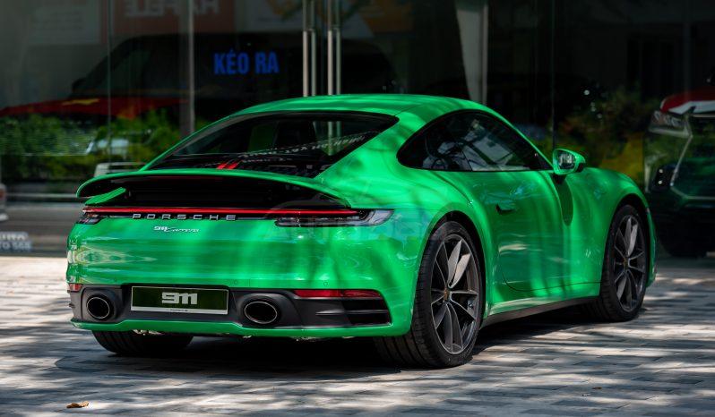Porsche 911 Carrera Python Green 2021 full